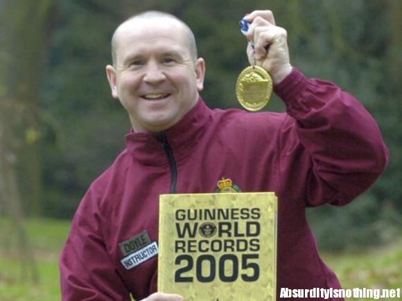 Paddy Doyle, 200 record del mondo (4)