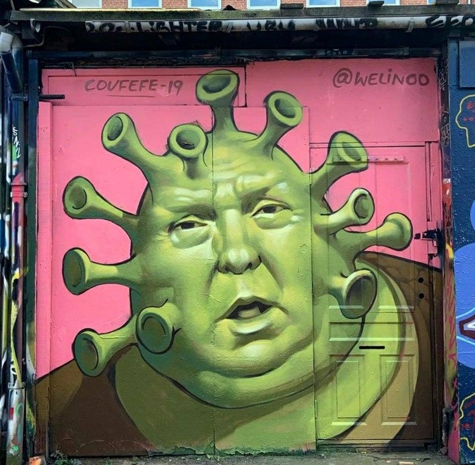 Murales Trump Virus