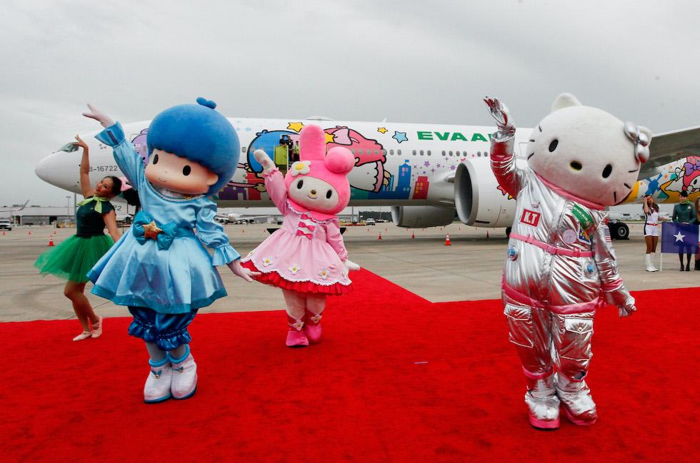 Hello Kitty volo senza destinazione